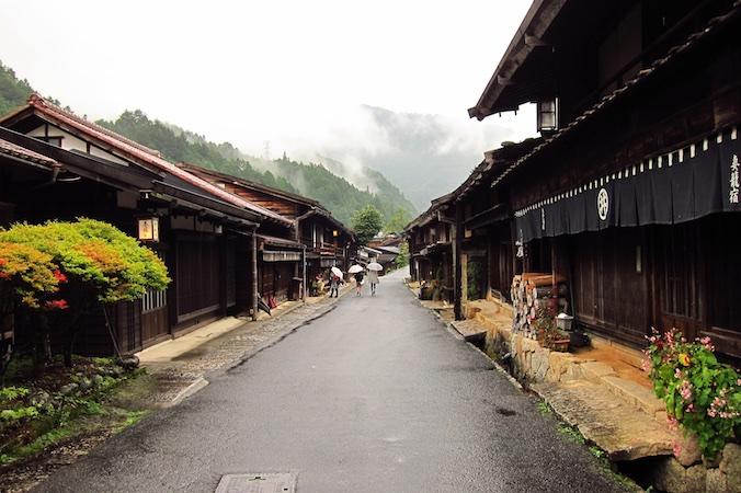 Japan Nakasendo Tsumago